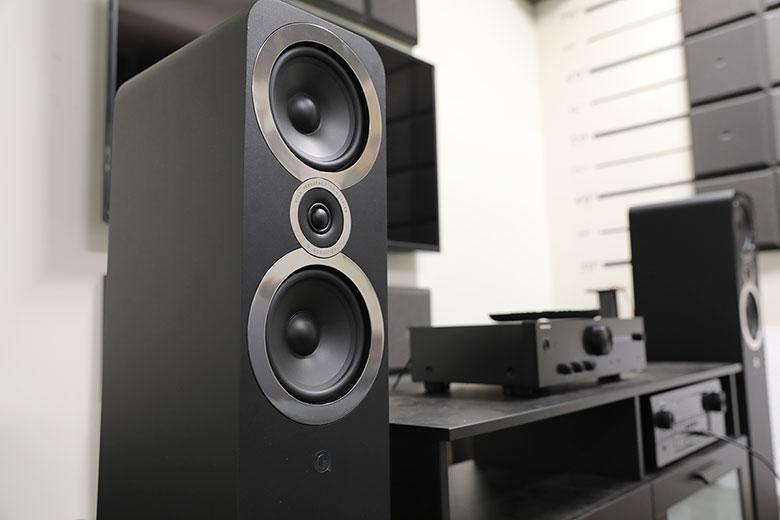 Q Acoustics 3050i sztereó álló hangfalak – Figyelemre méltó